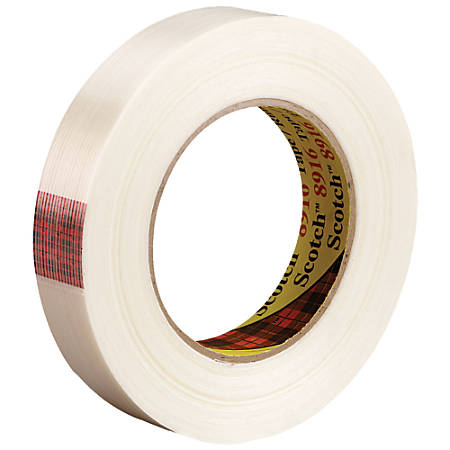"""Scotch® 8916 Strapping Tape, 3"""" Core, 0.75"""" x 60 Yd., Clear, Case Of 12"""
