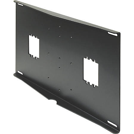 Peerless External Wall Plate - Steel - 150 lb, 125 lb