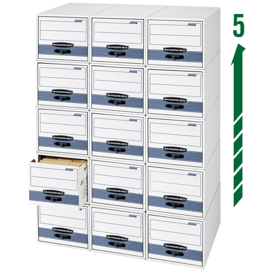 Bankers Box StorDrawer Steel Plus Drawer File Letter Size 23 14 X 12 12 X  10 38 60percent Recycled BlackWhite By Office Depot U0026 OfficeMax