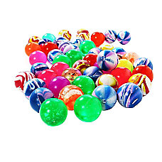 Juvale Bouncy Balls Party Favors 50