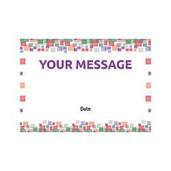 Flat Photo Greeting Card Square Mosaic