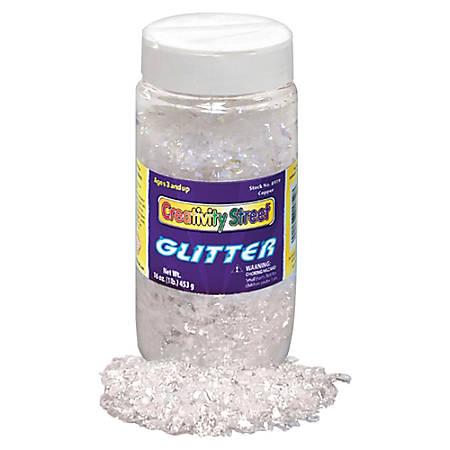Chenille Kraft Glitter Flakes, 8 Oz