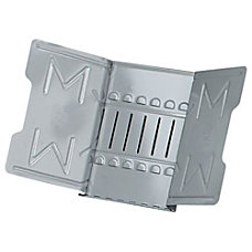Master Catalog Rack Gray 12 Sections