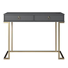 Ameriwood Home Serenity Writing Desk Graphite