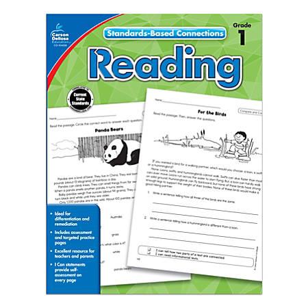 Carson-Dellosa Standards-Based Connections Reading Workbook, Grade 1