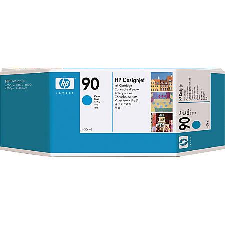 HP 90, Cyan Ink Cartridge (C5061A)