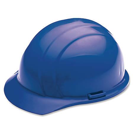 SKILCRAFT® Easy Quick-Slide Cap Safety Helmet, Blue (AbilityOne 8415-00-935-3132)