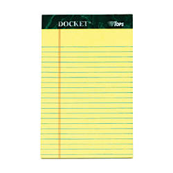 TOPS Docket Perforated Writing Pad 5