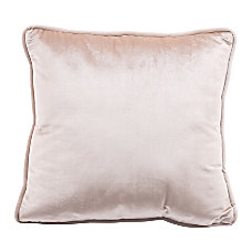 Zuo Modern Velvet Pillow Gold