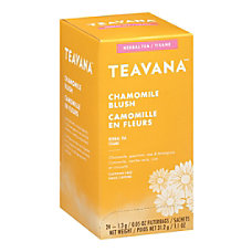 Teavana Chamomile Blush Herbal Tea Bags