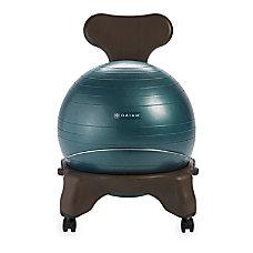 Gaiam Balance Ball Chair Forest Green