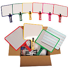 KleenSlate Customizable Whiteboards with Clear Dry