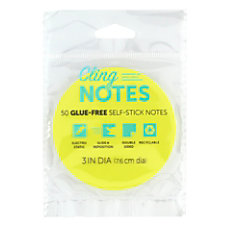 Office Depot Cling Notes 3 Circle