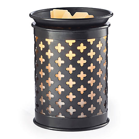 "Candle Warmers Etc Tin Illumination Fragrance Warmers, 8-13/16"" x 5-13/16"", Old World, Case Of 6 Warmers"