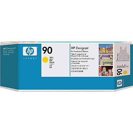 HP 90, Yellow Ink Printhead (C5057A)