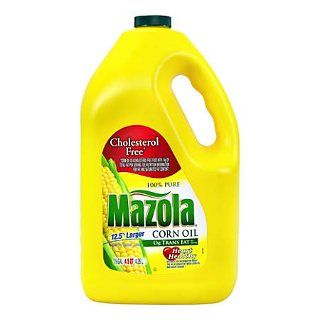 Mazola 100% Pure Corn Oil, 4.5 Qt