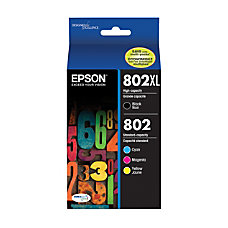 Epson DuraBrite T802XL BCS High Yield