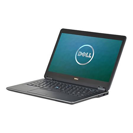 """Dell™ Latitude E7440 Refurbished Laptop, 14"""" Screen, 4th Gen Intel® Core™ i5, 8GB Memory, 256GB Solid State Drive, Windows® 10 Professional"""