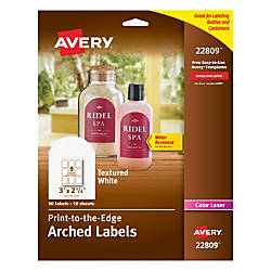 Avery Easy Peel Print To The