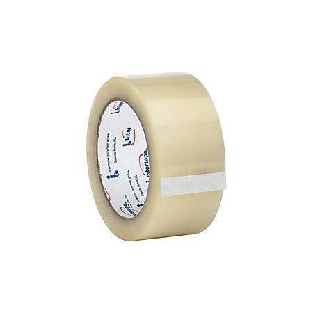 "Tape Logic™ #700 Hot Melt Tape, 2"" x 55 Yd., Clear, Case Of 6"