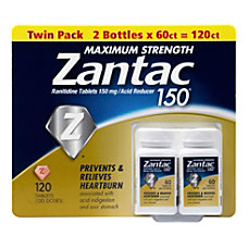 Zantac Maximum Strength Acid Reducer Tablets