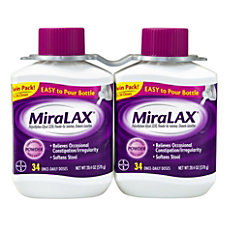 MiraLAX Laxative Powder 204 Oz Pack
