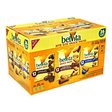Belvita Breakfast Biscuits Bite Size Snack