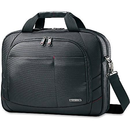 "Samsonite Xenon 2 Tech Locker Laptop Case for a 15.6"" screen, Tablet- Black"