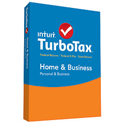 TurboTax® Home And Business 2015, For PC And Apple® Mac®, Traditional Disc