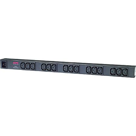 APC® AP9572 15-Outlet Rack-Mountable Power Distribution Unit