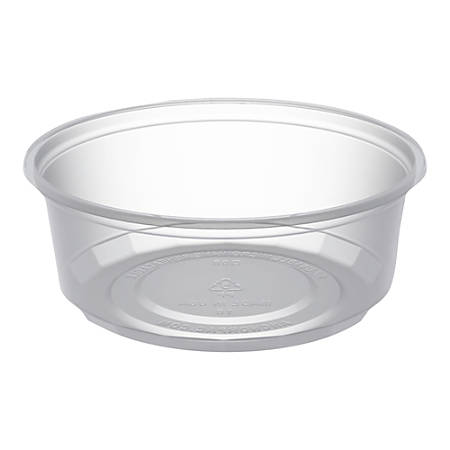 Anchor Packaging MicroLite® Deli Tubs, 0.25 Qt, Clear, Carton Of 500 Tubs