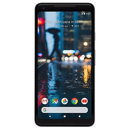 Google™ Pixel 2 XL Cell Phone, 64GB, Just Black, PGN100015