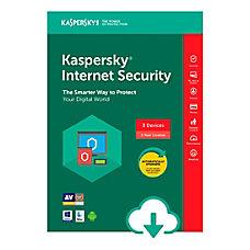 Kaspersky Internet Security 3 Users 1