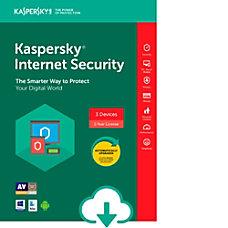 Kaspersky Internet Security 3 user 1