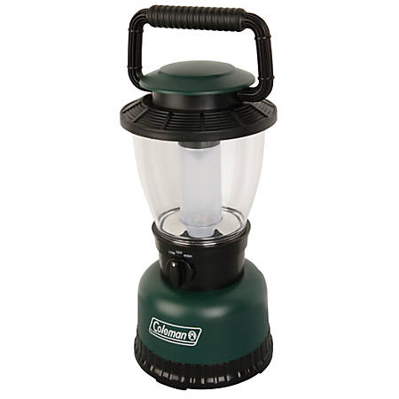 """Coleman Rechargeable LED Lantern, CPX6, 12"""", Green"""