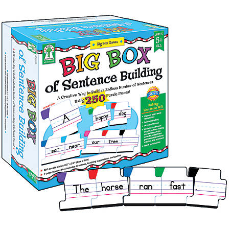 Carson-Dellosa Key Education Big Box Of Sentence Building, Grades K-2