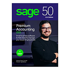 Sage 50 Premium Accounting 2019 Traditional