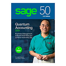 Sage 50 Quantum Accounting 2019 Traditional
