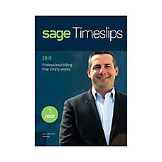 Sage Timeslips 2019 Traditional Disc