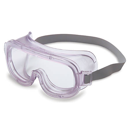 Classic Goggles, Clear Frame, Clear Lens, Uvextreme Antifog, Closed Vent