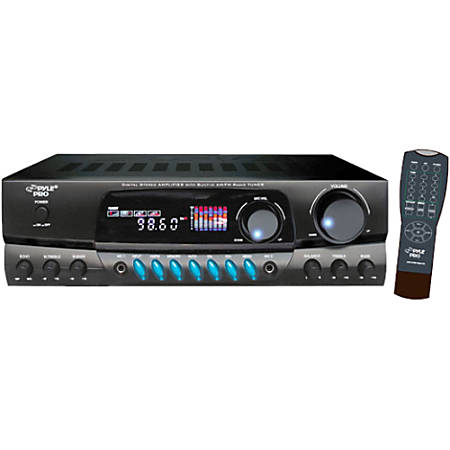 PylePro PT260A 200 Watts Digital AM/FM Stereo Receiver
