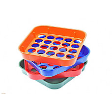 Nadex Coin Sorting Trays Assorted Colors