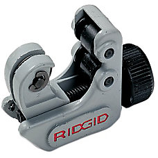 Ridgid Midget Cutter 58 Capacity GrayBlack