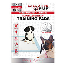 Executive Pup Waste Training Pads 22