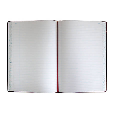 "Boorum & Pease Columnar Book, 10 3/8"" x 8 1/8"", Record, No Units, 75 Sheets"