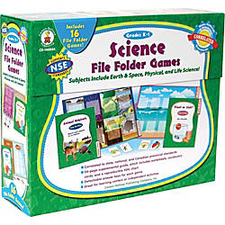 Carson Dellosa Science File Folder Games