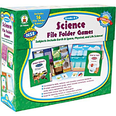 Carson Dellosa Science File Folder Games