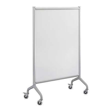 "Safco® Rumba™ Screen Whiteboard, 54"" x 36"", Silver Frame"