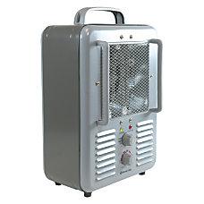 Comfort Zone Deluxe Milkhouse HeaterFan Electric