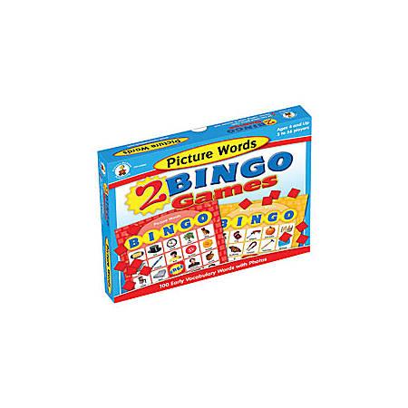 Carson-Dellosa Bingo Games, Picture Words